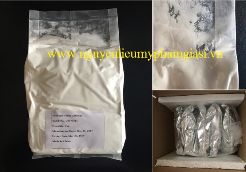 Anpha Arbutin (Dạng bột) – Cung cấp nguyên liệu mỹ phẩm Anpha Arbutin giá sỉ