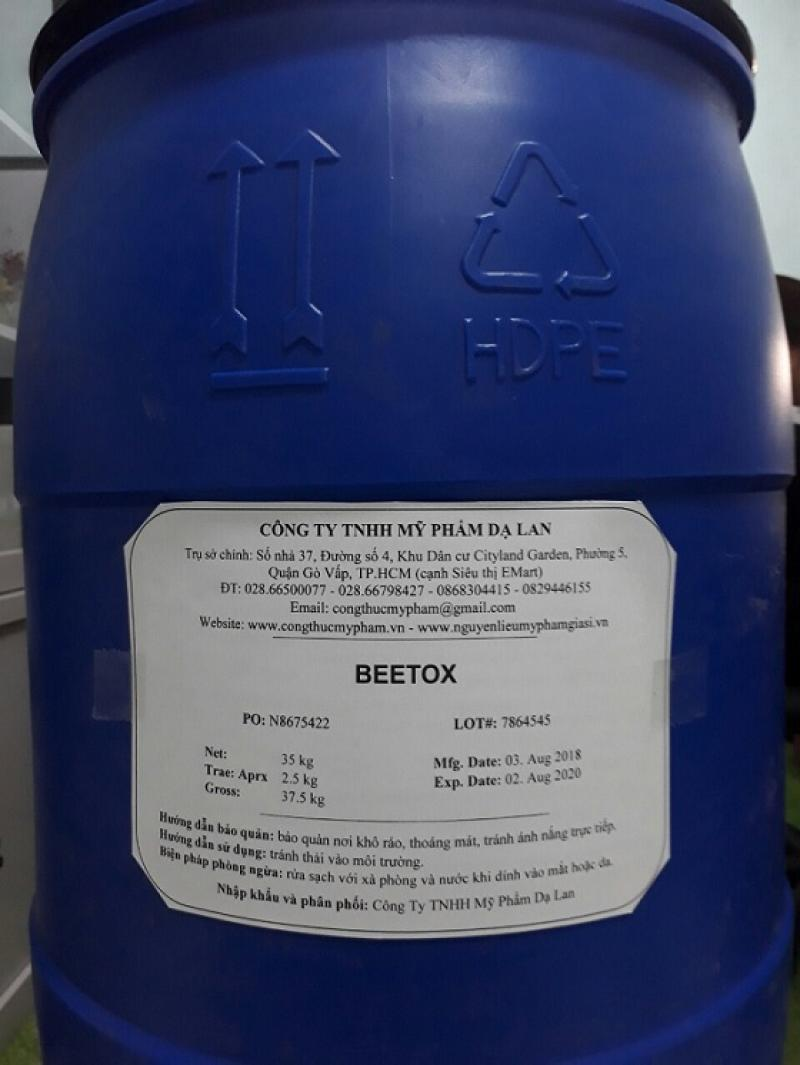 Beetox nguyên liệu mỹ phẩm – Bán Beetox giá sỉ