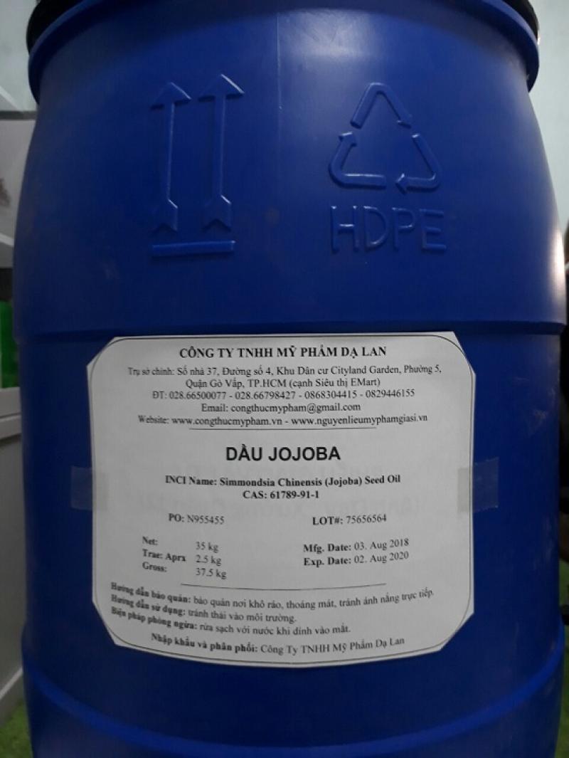 Dầu jojoba – Cung cấp dầu jojoba giá sỉ