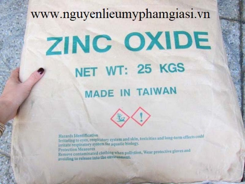 Kẽm oxit (ZnO) – Bán kẽm oxit cho sản xuất sản phẩm dưỡng da, kem trị mụn, kem chống nắng…