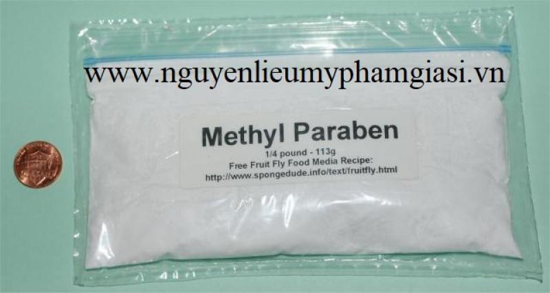 Paraben methyl nguyên liệu mỹ phẩm – Bán paraben methyl giá sỉ