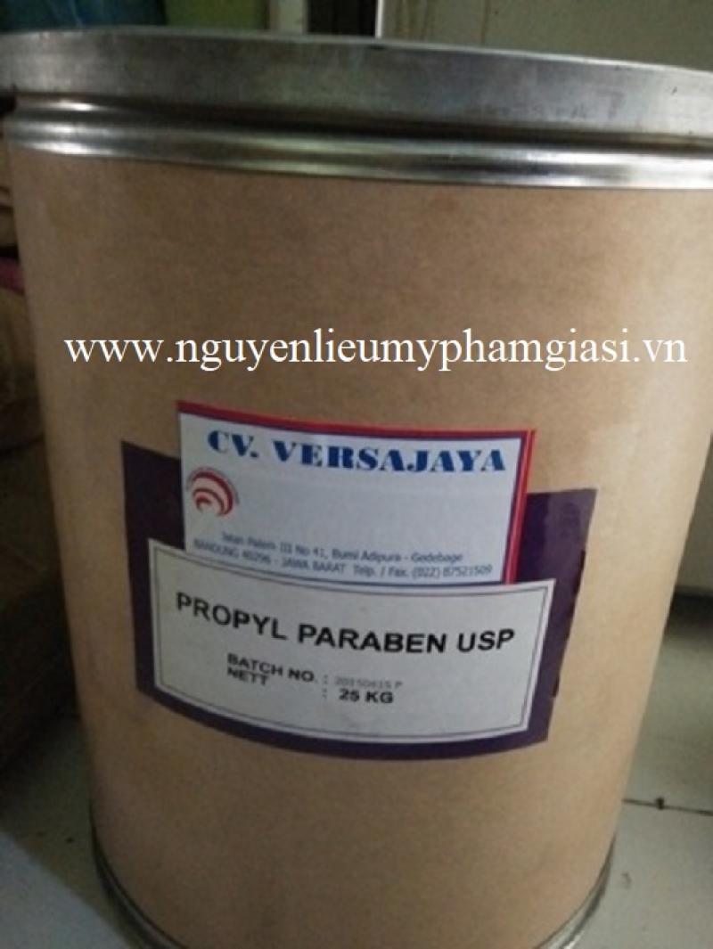 Propyl Paraben – Nguyên liệu Paraben propyl sản xuất dầu gội, sữa tắm, kem, dầu thơm