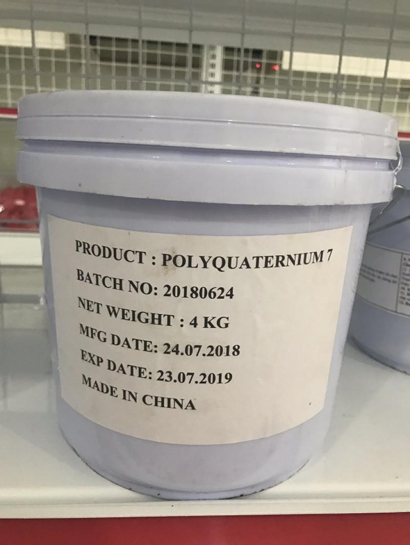 Nguyên liệu mỹ phẩm Polyquaternium 7 giá sỉ