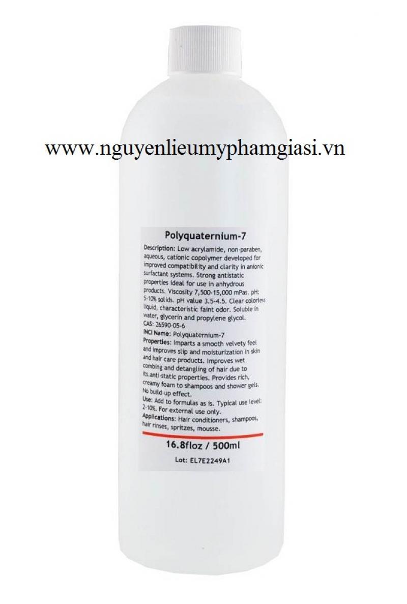 Polyquaternium 7 – Cung cấp Polyquaternium 7 sử dụng cho dầu gội, dầu xả, xà phòng, mỹ phẩm