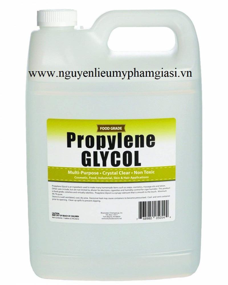 Propylene glycol - Propylene glycol giá sỉ cho sữa rửa mặt, kem, dầu gội, mỹ phẩm
