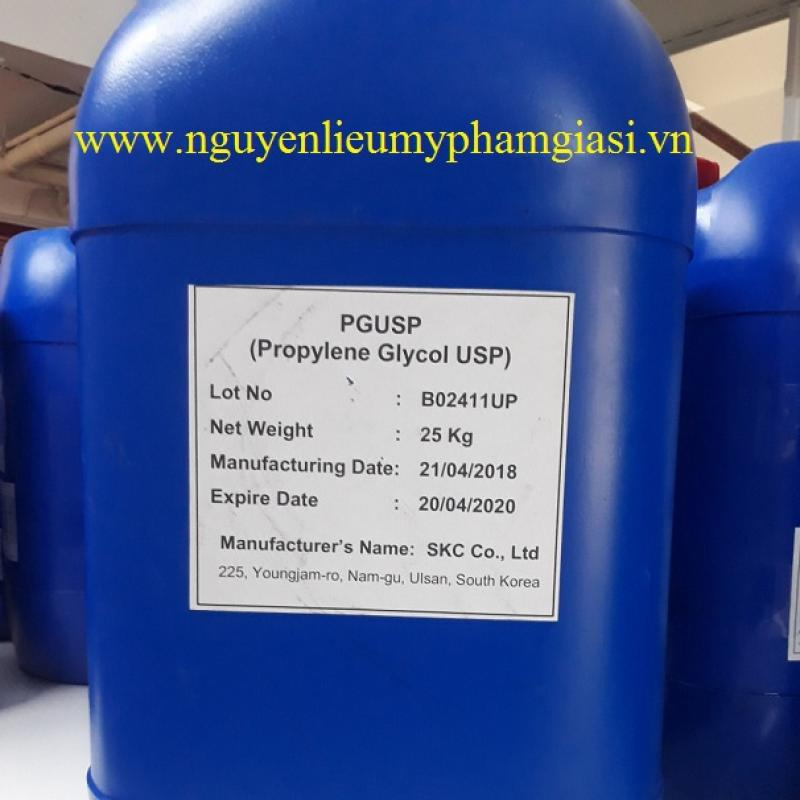 Bán Propylene glycol giá sỉ - Cung cấp nguyên liệu làm mỹ phẩm
