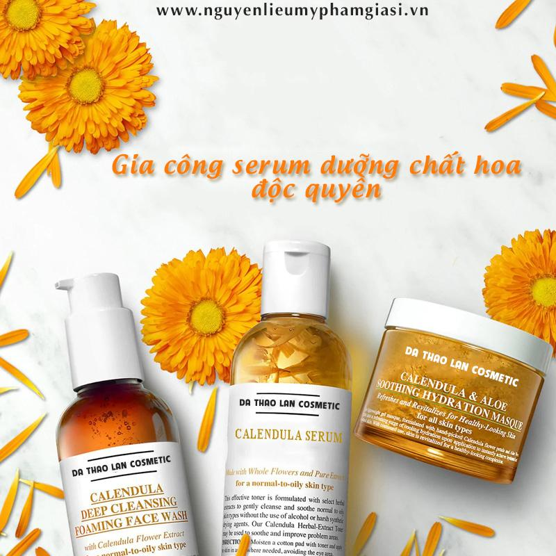 Gia công serum dưỡng chất hoa- Serum dưỡng chất hoa, gia công mỹ phẩm