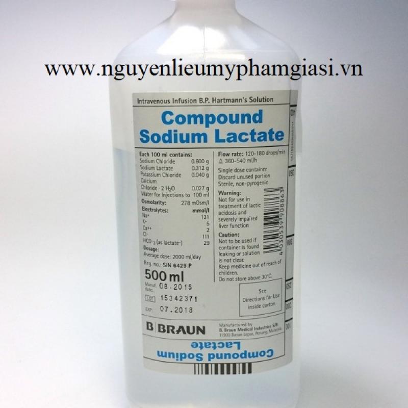 Cung cấp nguyên liệu mỹ phẩm Sodium Lactate giá sỉ