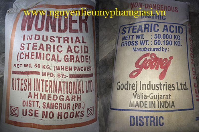 Sáp trứng cá (Stearic Acid) - Sáp trứng cá giá sỉ cho sản xuất mỹ phẩm