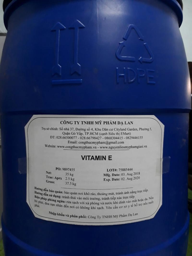 Vitamin E – Vitamin E giá sỉ cho mỹ phẩm